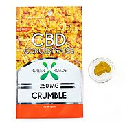 CBD DAB CRUMBLE BY GREEN ROADS WORLD