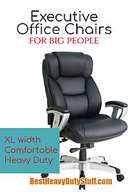 Executive Office Chairs for Big People up to 600 Pounds