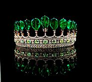 Princess Katharina Henckel Emerald and Diamond Tiara