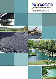 Wide Variety of Durable EPDM Pond Liner