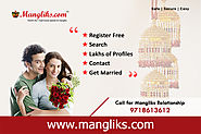 Website at https://www.mangliks.com/matrimony/delhi-matrimonial.php