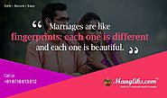 Start a Good Married Life Being For Manglik or Non Manglik Matrimony