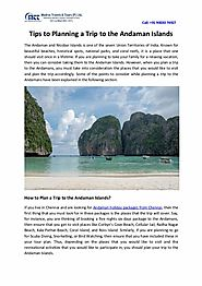 Tips to Planning a Trip to the Andaman Islands