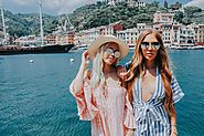 Victoria and Kelley Ann in Portofino