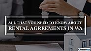 Understanding The Details Of Rental Agreements In WA
