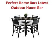 Perfect Home Bars Latest Outdoor Home Bar