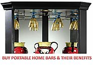 Buy Portable Home Bars & Their Benefits