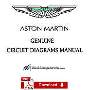ASTON MARTIN WORKSHOP V8 VANTAGE 13MY CIRCUIT DIAGRAMS for sale