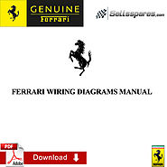 FERRARI 612 SCAGLIETTI WIRING DIAGRAMS MANUAL for sale