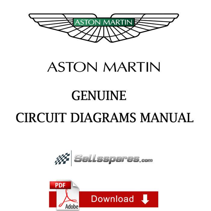 Aston Martin V8 Vantage Workshop Manual Car Manuals Literature Service Repair Manuals
