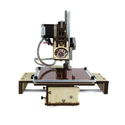 "Printrbot Assembled jr (v2) 3D Printer, ABS/PLA Filament, 1.75mm Ubis Hot End, 6"" x 6"" x6"" Build Volume"