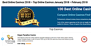 Website at https://www.100bestonlinecasinos.com/