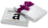 Amazon.com: Amazon.com White Gift Card Box - $50: Gift Cards Store