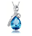 Austrian Crystal Eternal Love Teardrop 100% Genuine Swarovski Elements with Swarovski Cubic Zirconia Crystal Adorable...