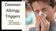 Some Common Triggers of Pediatric Allergy
