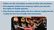 Play slot machine online and make money double