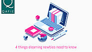 4 things elearning newbies need to know