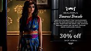 Buy Banarasi Brocade Silk Sarees from Shatika