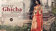 Shatika - Buy Ghicha Silk Sarees Online Shopping- Upto 50% Off