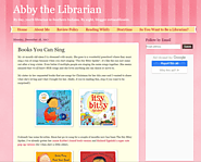Abby the Librarian: Books You Can Sing