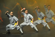 Shoalin Kung Fu Monks Make Impression in First Ever African Appearance