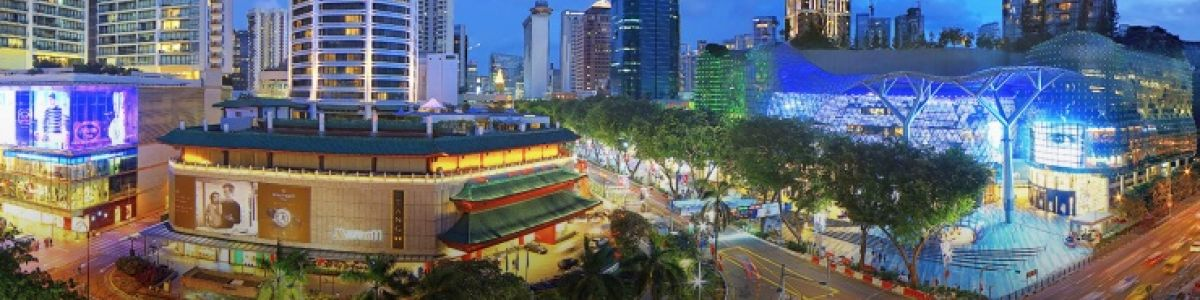 Headline for 5 Must-see landmarks around Orchard Road in Singapore - Full of awe and spectacle!