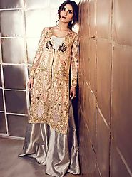 Rose Gold Jacket by TENA DURRANI