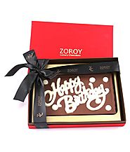 Happy Birthday Chocolates Gifts – Zoroy Luxury Chocolates