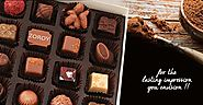Buy Online Corporate Chocolate Gift in India