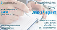 Statistics Assignment Writing Service