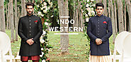 Style Up with Designer Indo Western Outfits & Western Suits for Men at Manyavar