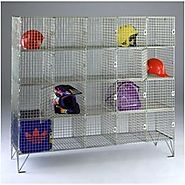 6 ways wire mesh storage lockers could be put to use