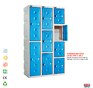 How Plastic Lockers are the best suitable for your Business