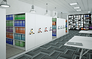 Mobile Shelving System: Smart Space Management – Probe Lockers Ltd