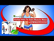 Herbal Pills to Gain Muscle Mass Fast Without Exercise