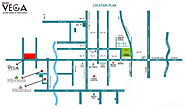 Find Out Location Map Project for Galaxy Vega in Noida Extension