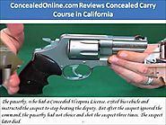 ConcealedOnline.com Reviews Concealed Carry Course in California