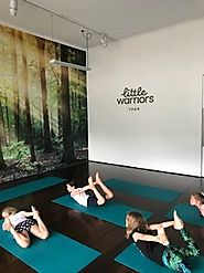 Gain positivity from Little Warriors Yoga
