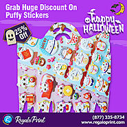 Grab 25% Discount on Puffy Stickers | RegaloPrint