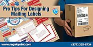 Pro Tips For Designing Mailing Labels - Labels Printing Service