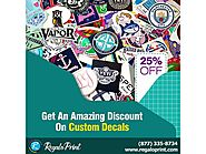 Get An Amazing Discount On Custom Decals - RegaloPrint
