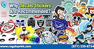 Why Decals Stickers Are Recommended?