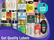 Get Quality Custom Labels at A 20% Discount - RegaloPrint