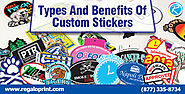 Types And Benefits Of Custom Stickers – Custom Stickers Printing Solutions