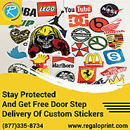 Stay Protected And Get Free Door Step Delivery Of Stickers – RegaloPrint
