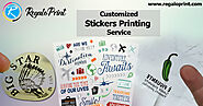 Customized Stickers Printing Service