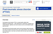 Post-traumatic stress disorder (PTSD) - Symptoms and causes - Mayo Clinic