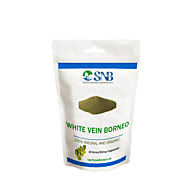 White Vein Borneo Kratom Online - 100% Organic White Borneo at Super Natural Botanicals