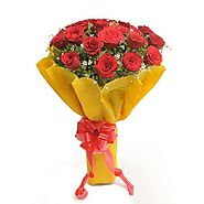 Beautiful Twenty - Celebrate your day of love with this beautiful bunch of roses in a romantic way.