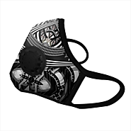 Black & White Manish Arora Design N99 CV Single Valve Vogmask - nirvanabeing